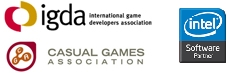 intel, international game developers and casual games association member